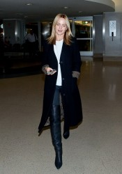 Mena Suvari - at LAX Airport 9/25/13