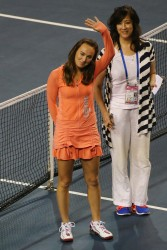 Martina Hingis - Toray Pan Pacific Open Day 5 in Tokyo 9/26/13