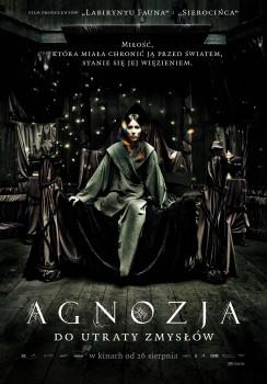 Polski plakat filmu 'Agnozja'