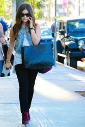 Lucy Hale - out in Hollywood 9/27/13