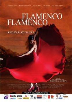 Przód ulotki filmu 'Flamenco, Flamenco'