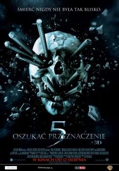 Polski plakat filmu 'Oszukać Przeznaczenie 5'