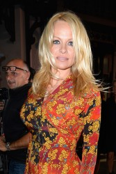 Pamela Anderson - Vivienne Westwood S/S 2014 Fashion Show in Paris 9/28/13