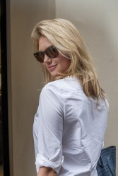 Kate Upton - out & about during Paris Fashion Week 9/30/13