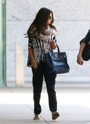 Selena Gomez - Going to a meeting in Century City 10/2/13