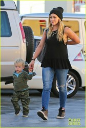 Hilary Duff - Out in Beverly Hills 10/1/13