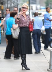 Katherine Heigl - Out in NYC 10/3/13