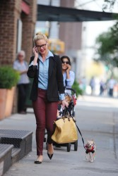 Katherine Heigl - out in NYC 10/4/13