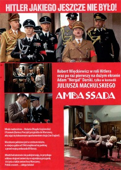 Tył ulotki filmu 'AmbaSSada'