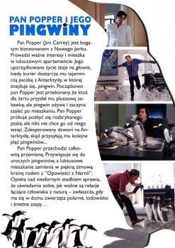 Tył ulotki filmu 'Pan Popper i Jego Pingwiny'