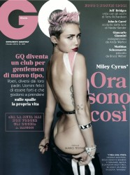 Miley Cyrus in GQ Italy - October 2013