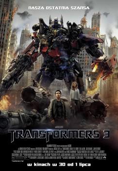 Polski plakat filmu 'Transformers 3'