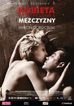 Polski plakat filmu 'Kobieta, Która Pragnęła Mężczyzny'