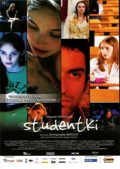 Przód ulotki filmu 'Studentki'