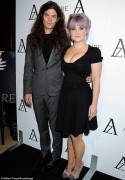 Kelly Osbourne at The Black Diamond Affair in West Hollywood on October 8, 2013