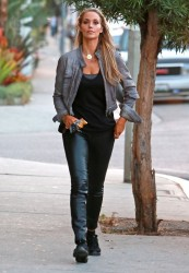 Elizabeth Berkley - Out in West Hollywood 10/10/13