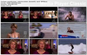 SAMANTHA BROWN bikini celebration!