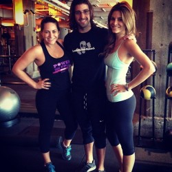 Maria Menounos Working Out at a Gym in Chicago - October 12, 2013