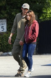 Mila Kunis - out in Sherman Oaks 10/13/13