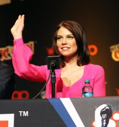 Lauren Cohan - 'The Walking Dead' panel at New York Comic Con in NYC 10/12/13