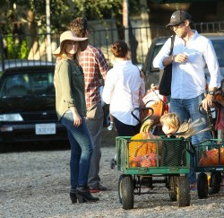 Ali Larter - at Mr. Bones Pumpkin Patch in West Hollywood 10/14/13