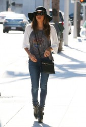 Eva Longoria - out in Beverly Hills 10/15/13