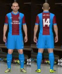 download Trabzonspor 13-14 Home Kit PES2014 by DRDYK