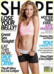 Kate Hudson in Shape Magazine - November 2013