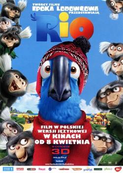 Przód ulotki filmu 'Rio'