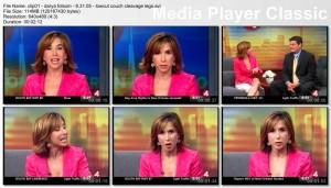 DARYA FOLSOM kron4 newsbabe - couch segment - 8.31.05
