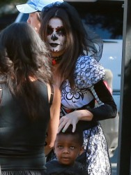 Sandra Bullock - at a Halloween party in Sherman Oaks 10/19/13