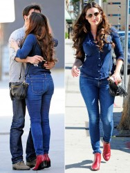Kelly Brook - out in LA 10/19/13