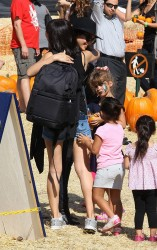 Jessica Alba - at Mr.Bones Pumpkin Patch in West Hollywood 10/20/13