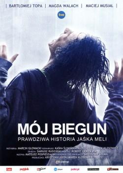 Przód ulotki filmu 'Mój Biegun'