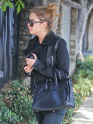 Ashley Benson - Leaving the gym in West Hollywood 10/25/13