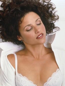 JULIA LOUIS DREYFUS bed bra lingerie