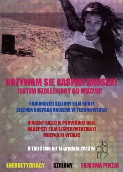 Tył ulotki filmu 'Legenda Kaspara Hausera'