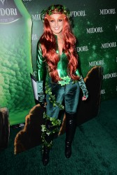 Shenae Grimes - 3rd Annual Midori Green Halloween Party in West Hollywood 10/29/13