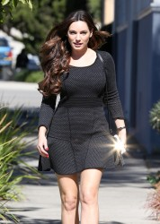 Kelly Brook - out in LA 10/31/13