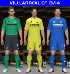download pes 2014 Villarreal CF 13/14 GDB Set by KaNaRiO