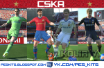 download pes 2014 PFC CSKA Moscow kit in gdb format