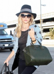 Rosie Huntington-Whiteley - Arriving to LAX Airport 11/3/13