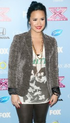 Demi Lovato - The X Factor Finalist Party in LA 11/4/13