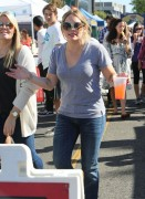 Hilary Duff - At the Farmers Market in Studio City 11/10/13