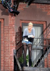 "Cameron Diaz - Filming ""Annie"" in NYC 11/12/13"
