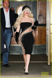 Lady Gaga - Out in NYC 11/15/13