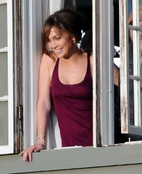 Jennifer Lopez - on the set of 'The Boy Next Door' in LA 11/16/13