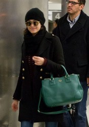 Emmy Rossum - at LAX Airport 11/16/13