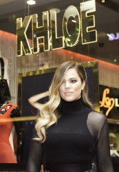Khloe Kardashian - Kardashian Kollection for Lipsy London Launch in Dubai 11/17/13