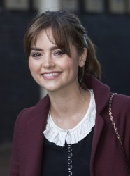 Jenna Coleman - leaving ITV Studios in London 11/19/13